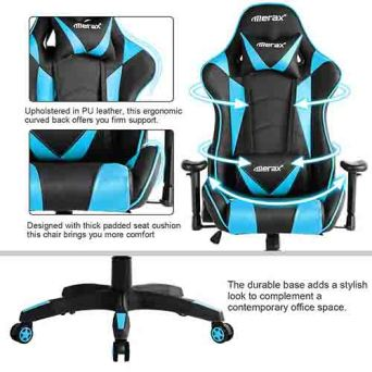 Merax racing style gaming chair