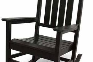 How to Paint a wooden Rocking Chair