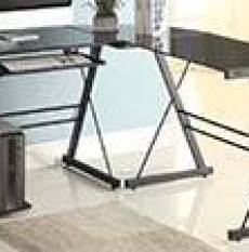 Naomi Home Glass Office Desk