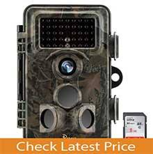 Papake Trail Game Camera 12MP 1080P HD Hunting Camera
