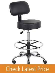 Boss Caresssoft Standing Desk Chair