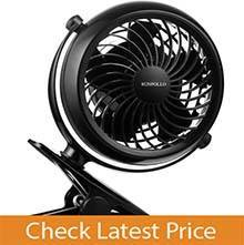 SUNPOLLO 4'' USB Mini Desk Fan