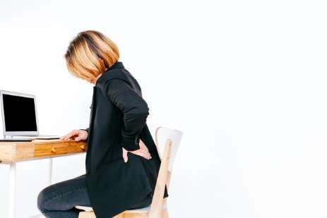 How to Relieve Back Pain While Sitting