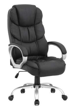 BestOffice High Back Cushioned Office Chair
