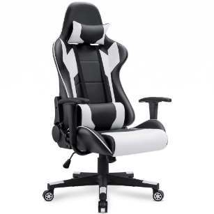 Homall Executive Racing Style High Back PU Leather Chair