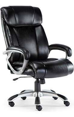 ComHoma High Back Cushioned Office Chair