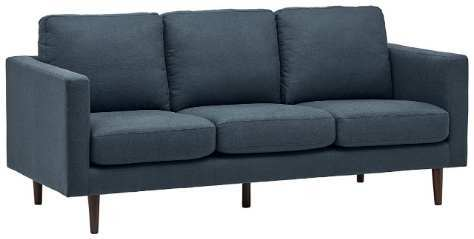 Rivet Revolve Modern Best Fabric Sofa