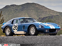 Shelby Cobra Daytona Coupe 4.7 litre V8 RWD 1964