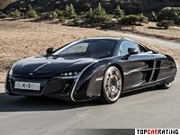 McLaren X-1 Concept 3.8 litre V8 RWD 2012