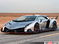 Lamborghini Veneno 6.5 liter V12 AWD 2013