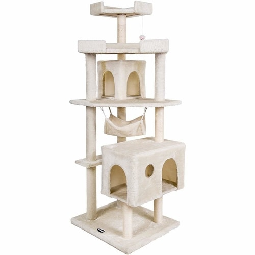 Best Cat Tree Under $100 - Merax Cat House Activity Tree
