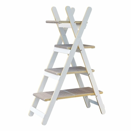 Best Cat Tree $100-$200 - Merry Products Modern Folding Cat Tree