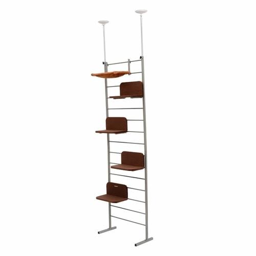 Best Cat Tree $100-$200 - PawHaven Adjustable Floor To Ceiling Cat Tree Tower