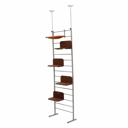 Best Cat Tree $100-$200 - PawHaven Adjustable Floor To Ceiling Cat Tree Tower