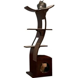 Best Cat Trees Above $200 - Refined Feline Lotus Cat Tower