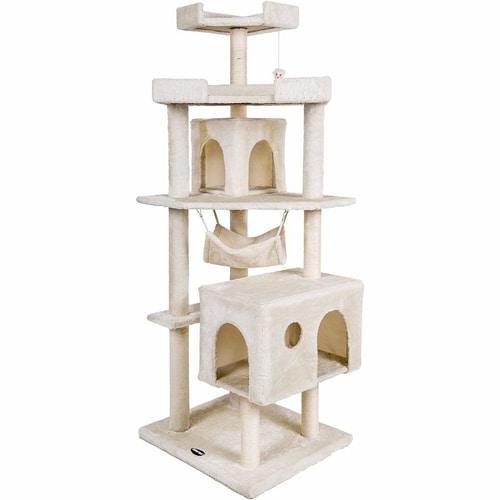 Best Cat Trees Smart Buyers Guide - Merax Cat House Activity Tree