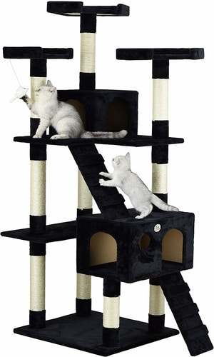 Best Cat Tree For Large Cats - Go Pet Club 72 Inch Cat Tree
