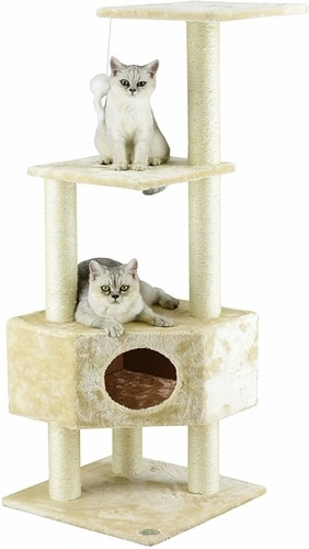 Best Cat Condo For Two Cats - Go Pet Club Cat Tree Condo