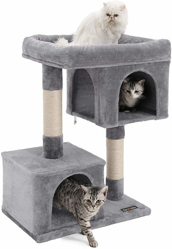 Best Cat Trees For Multiple Cats - FEANDREA Cat Tree for Large Cats