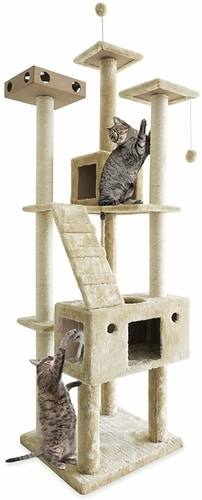 Cheap Cat Trees For Large Cats - FurHaven Pet Cat Tree For Cats & Kittens