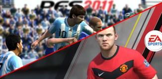 Pes 2011 vs Fifa 11