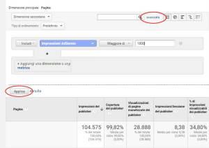 Analytics ed AdSense ed il filtro necessario