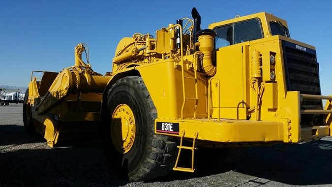Topolewski America Inc    Topcor   For Sale Caterpillar 631E II