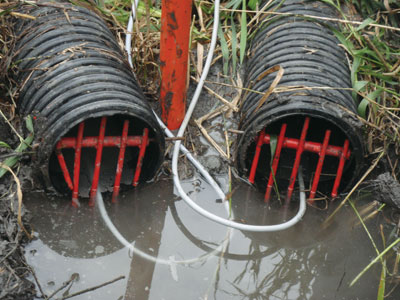 tile drainage research starting in