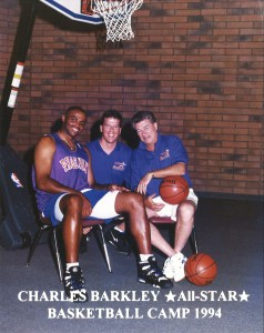 Charles Barkley Tim McFerran Chuck Daly