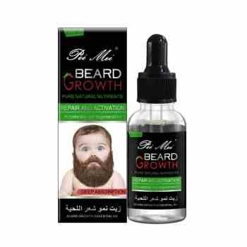 huile pousse barbe repousse poil cheveux torse beard growth essentiel