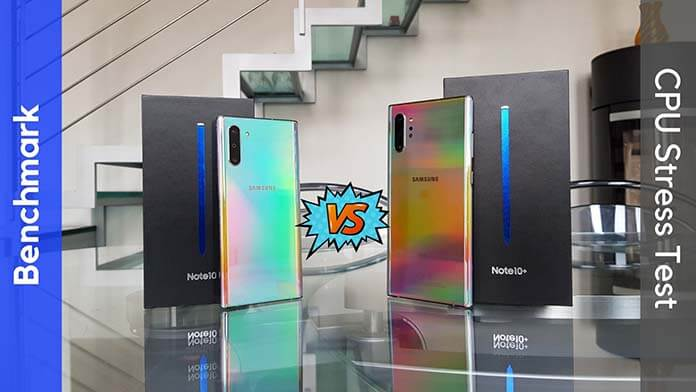 Samsung Galaxy Note 10 vs Note 10+ Benchmark e Prestazioni Hardware