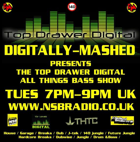 New Podcast Digitally Mashed Top Drawer Digital Show 18 -11-2014