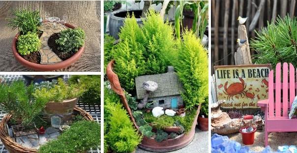14 Fabulous And Cute Mini Fairy Gardens