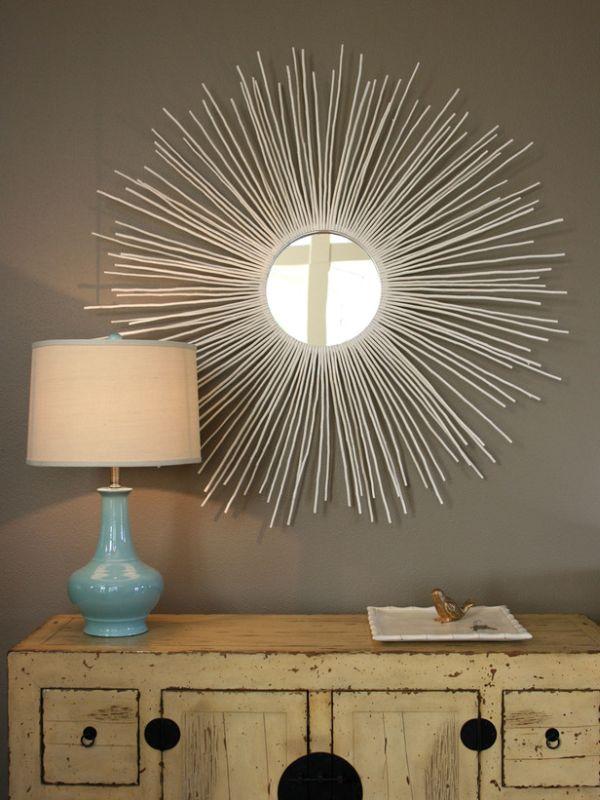15 Creative And Unique DIY Mirror Frames Ideas