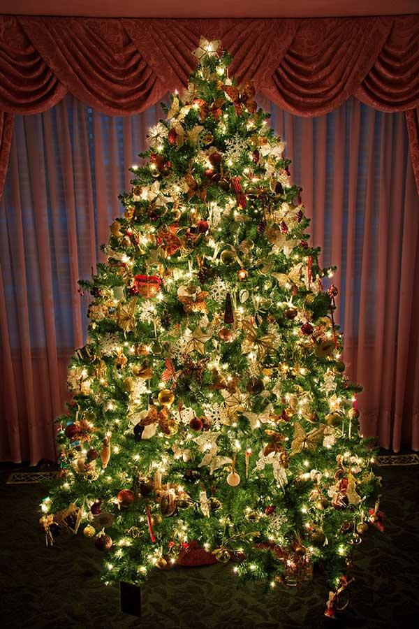 How Make Tree Out Christmas Lights