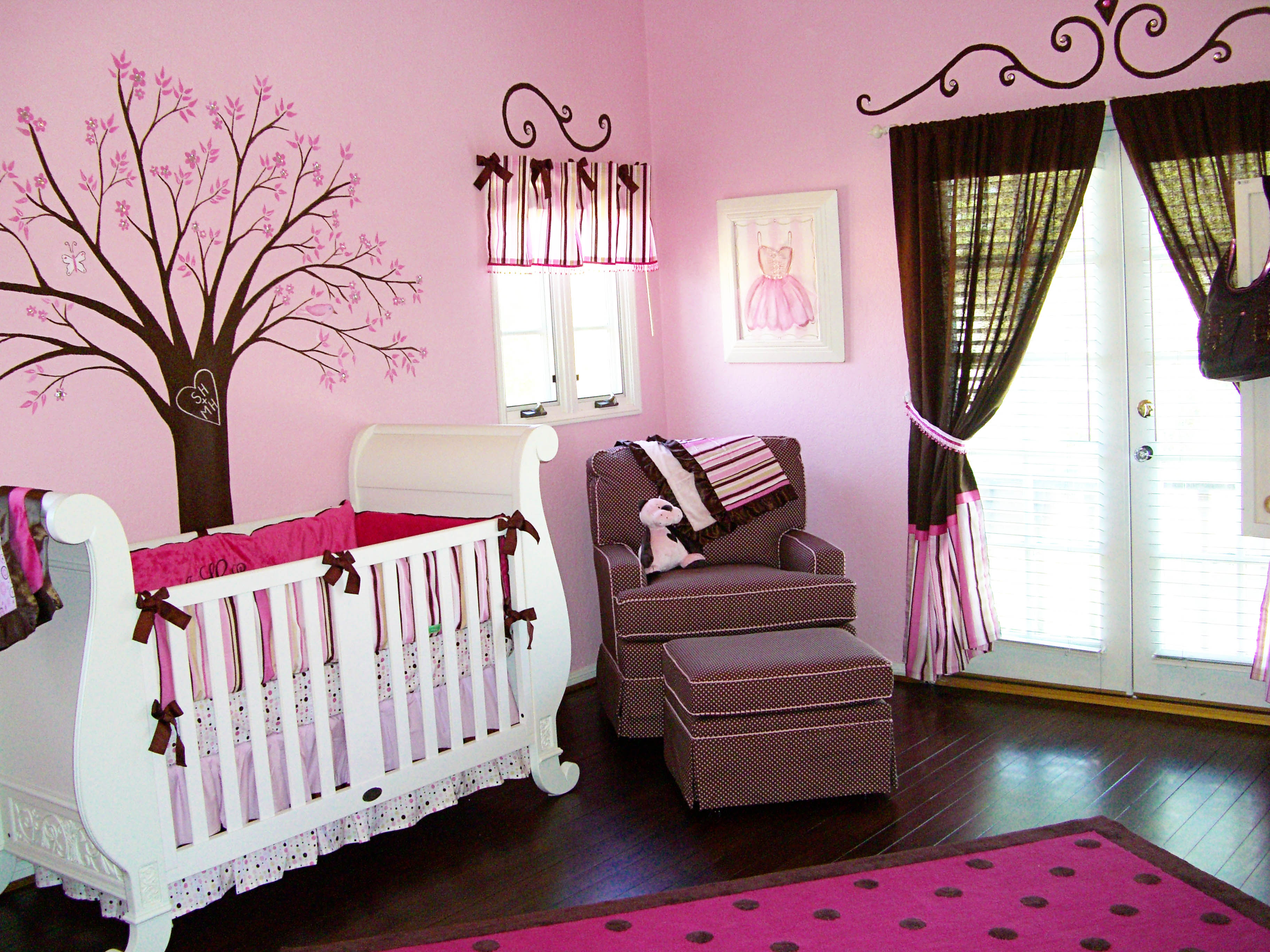 Lovely Baby Girl Room Designs