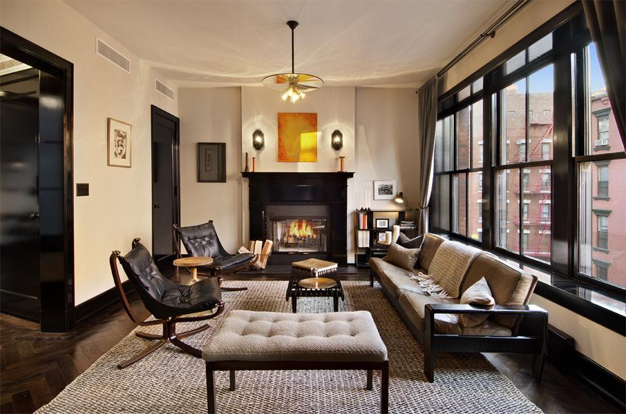Modern Masculine Living Room Designs