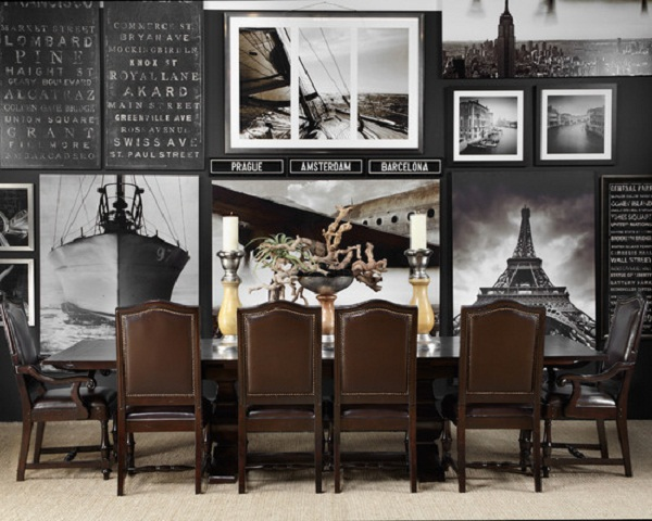 Modern Masculine Dining Room Designs