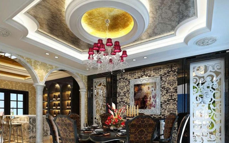 16 Impressive Dining Room Ceiling Designs