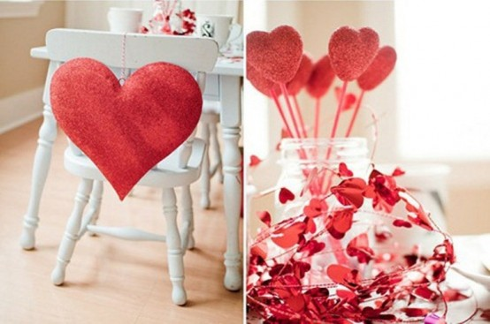 Romantic Valentines Day Home Decoration Ideas
