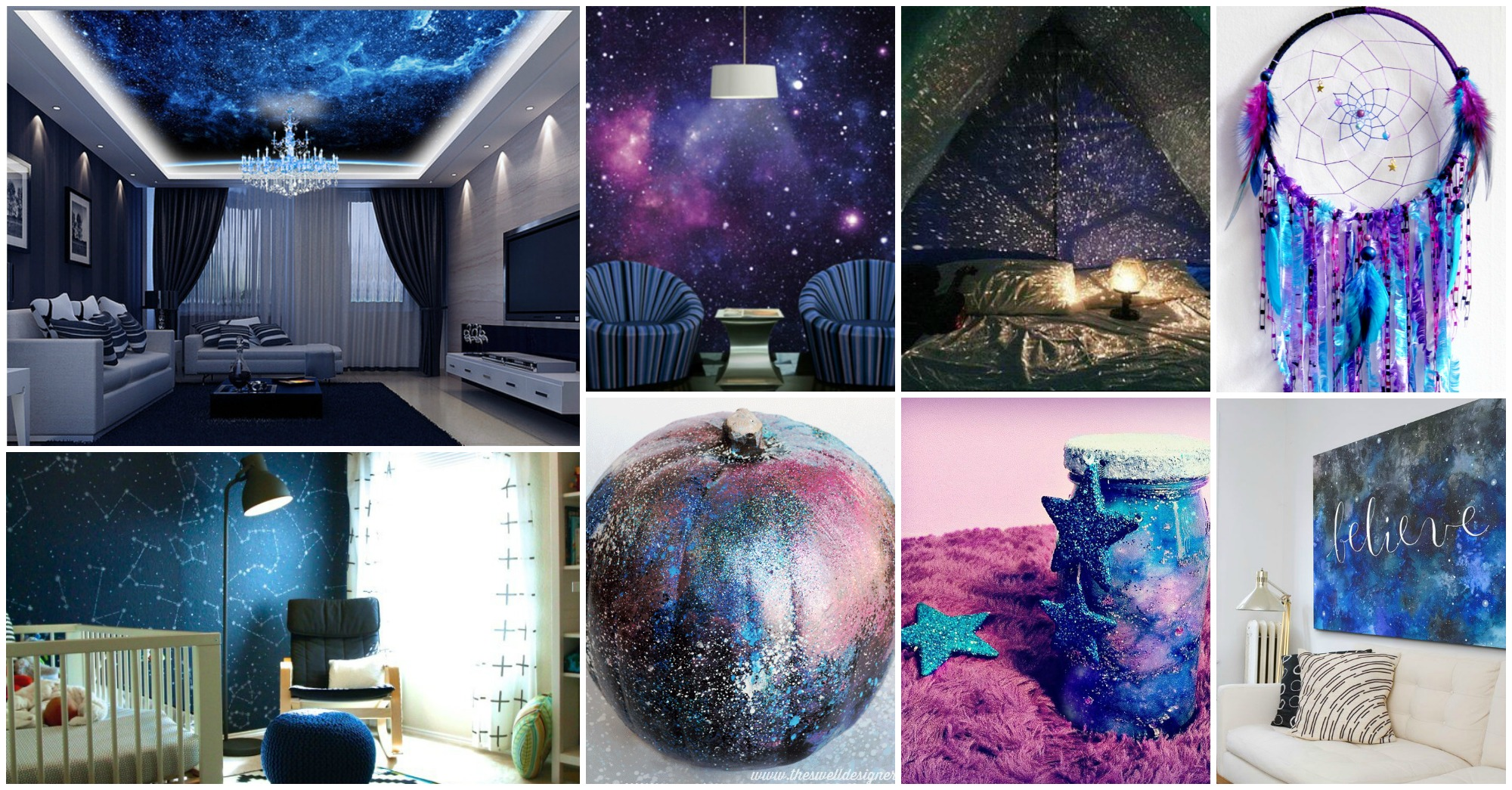 20 Wonderful Galaxy Decor Ideas That Will Bring Magic Into Your Home