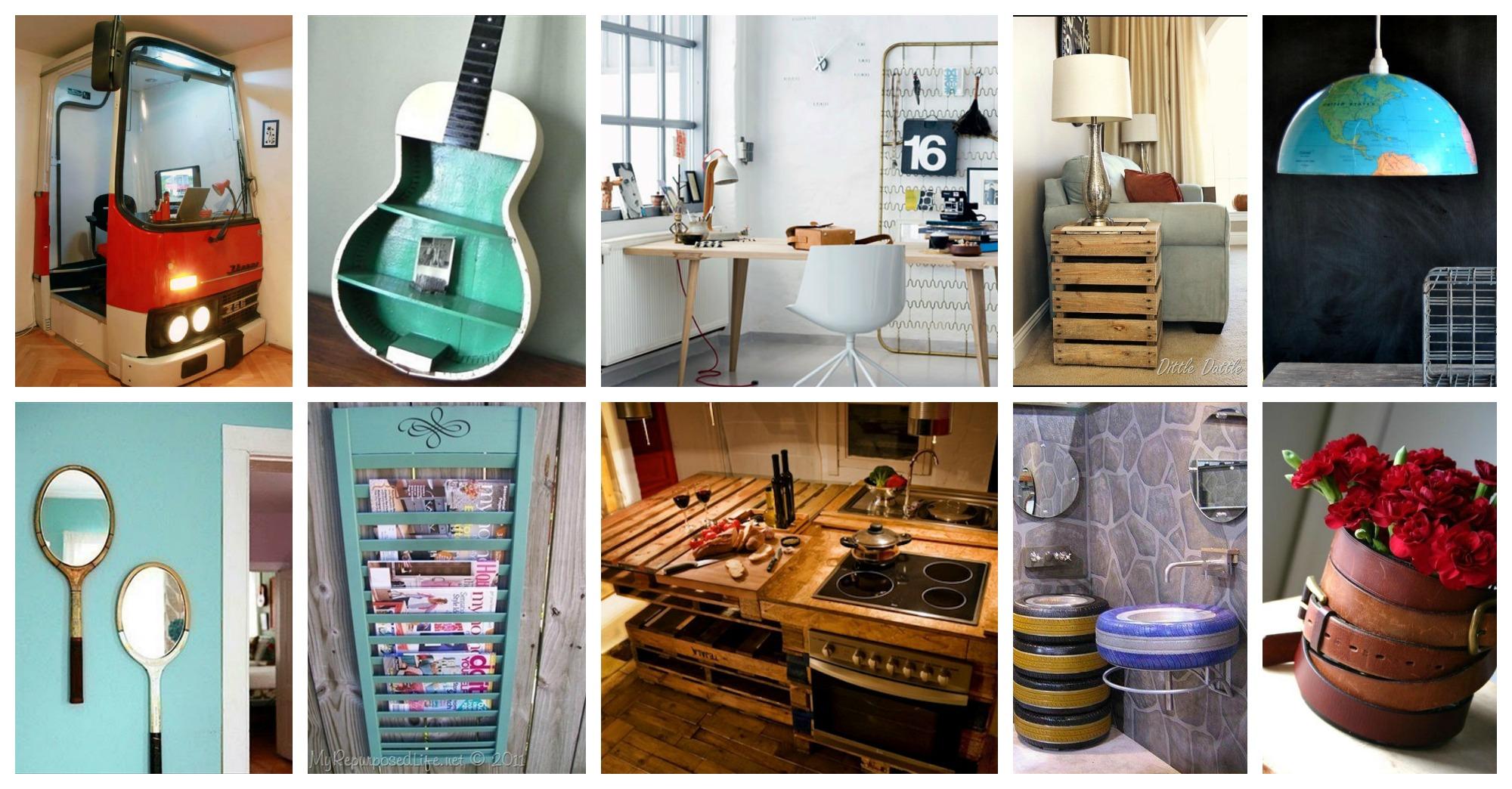 How To Repurpose Old Items In Interior Decor