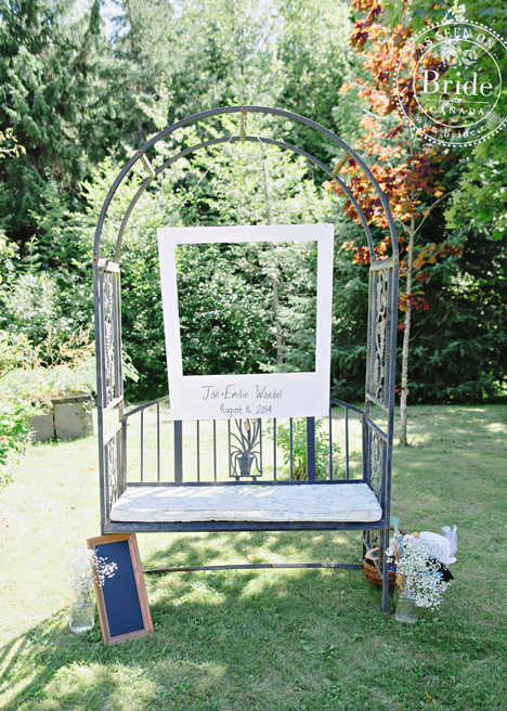 Rustic Wedding Invitation Box