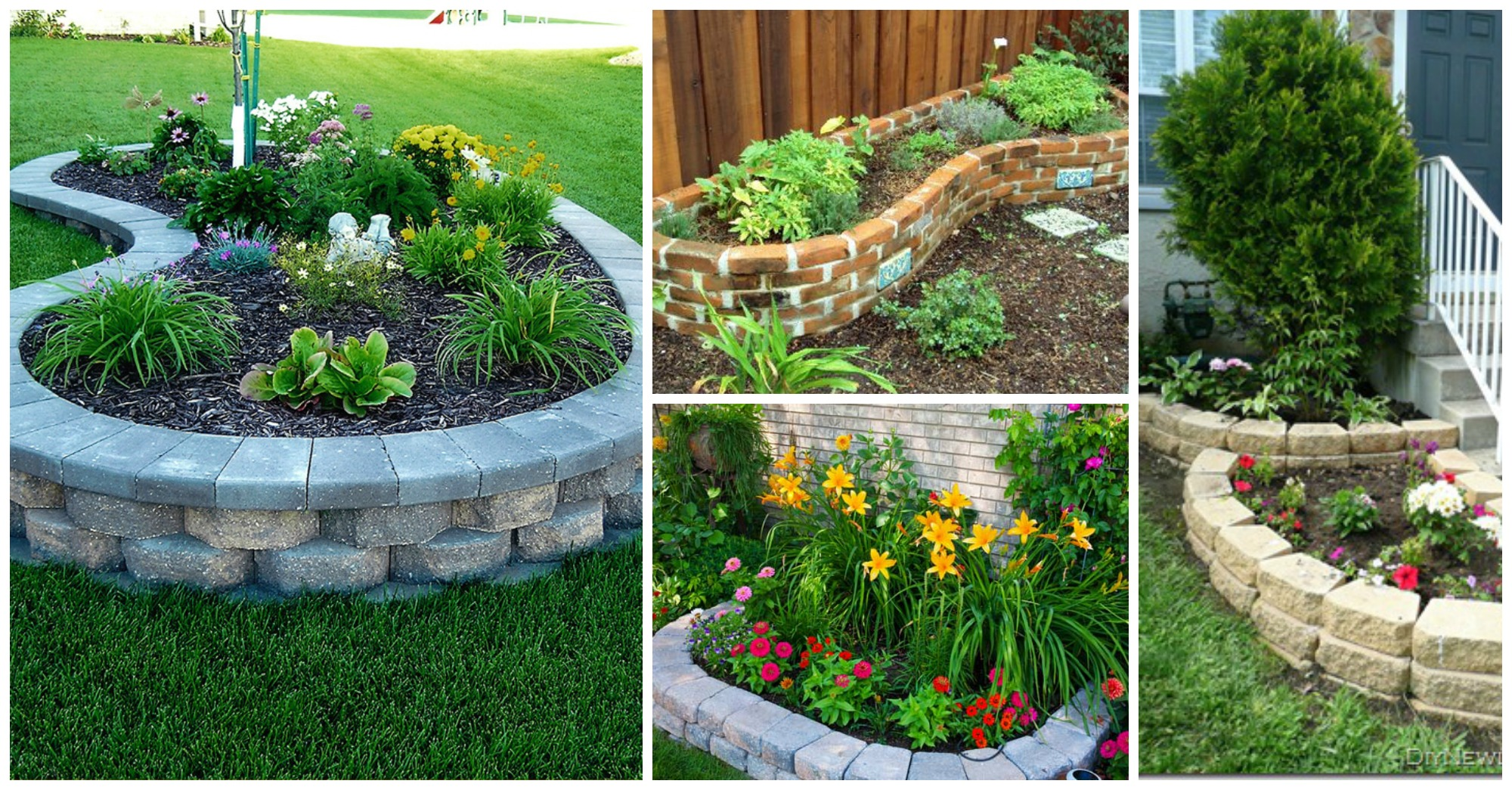Clever Tips For Building Flower Beds On Budget