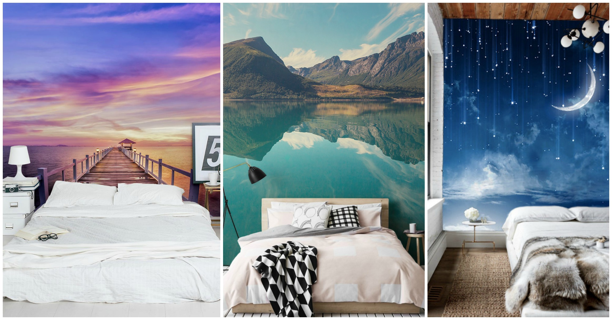 10 Astonishing Wall Murals That Will Make Your Bedroom