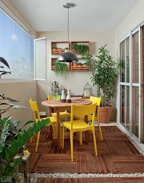 15 Awesome Enclosed Balconies That Are Worth Your Time