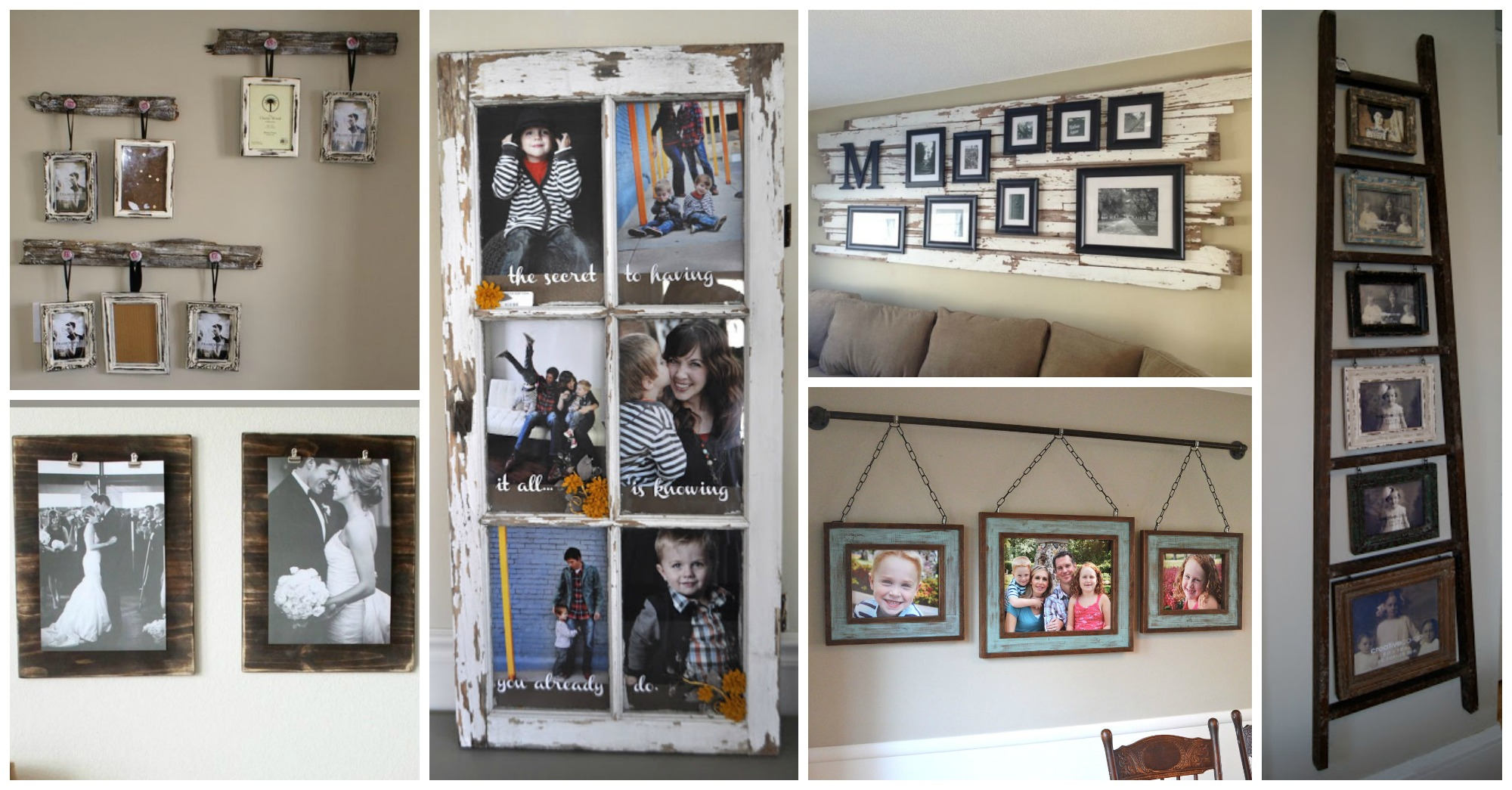 11 Vintage Ways To Display Your Family Photos That Will