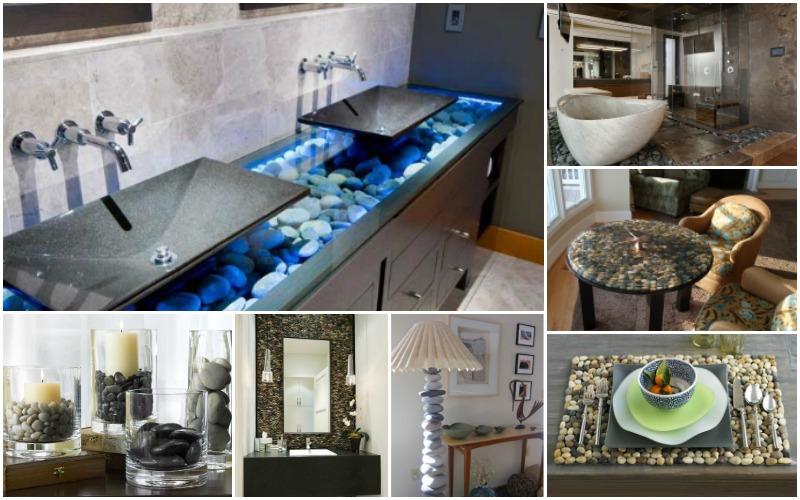 How To Decorate Your Lovely Homes With River Rocks