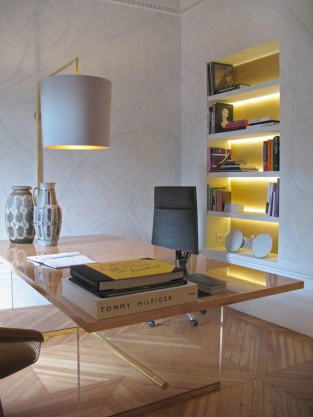 Golpear estantes Ideas de iluminación que le fascinará