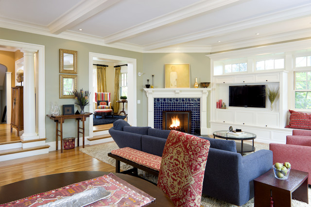 Clever Tips To Decorate Around Corner Fireplaces